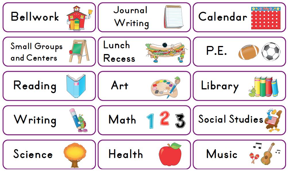 Mrs solis s teaching. Schedule clipart card