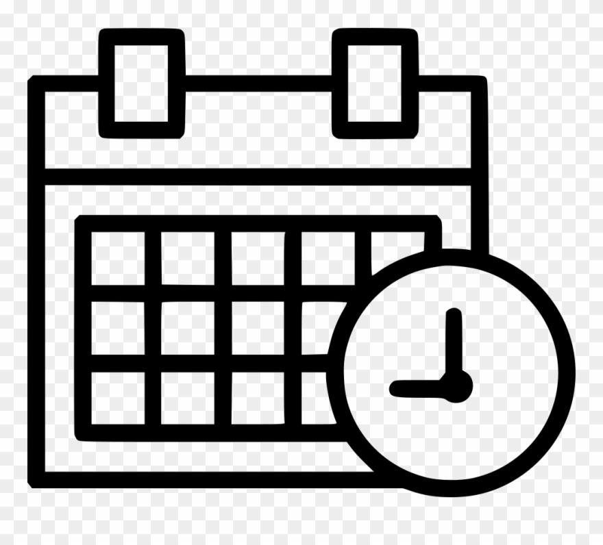 Schedule clipart clander. Time limited calendar comments