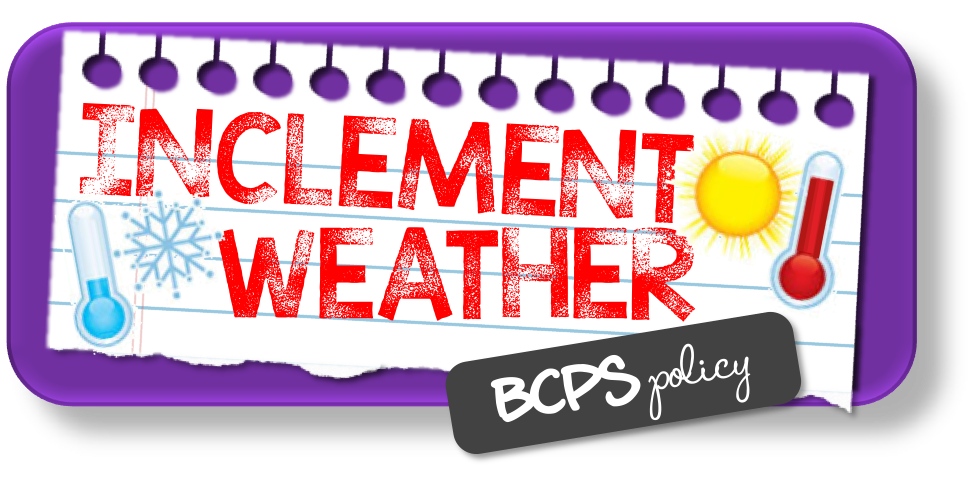 Schedule clipart delay. Inclement weather policy pot