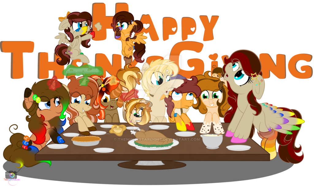 Schedule clipart hectic. Family dinner mlp ocs