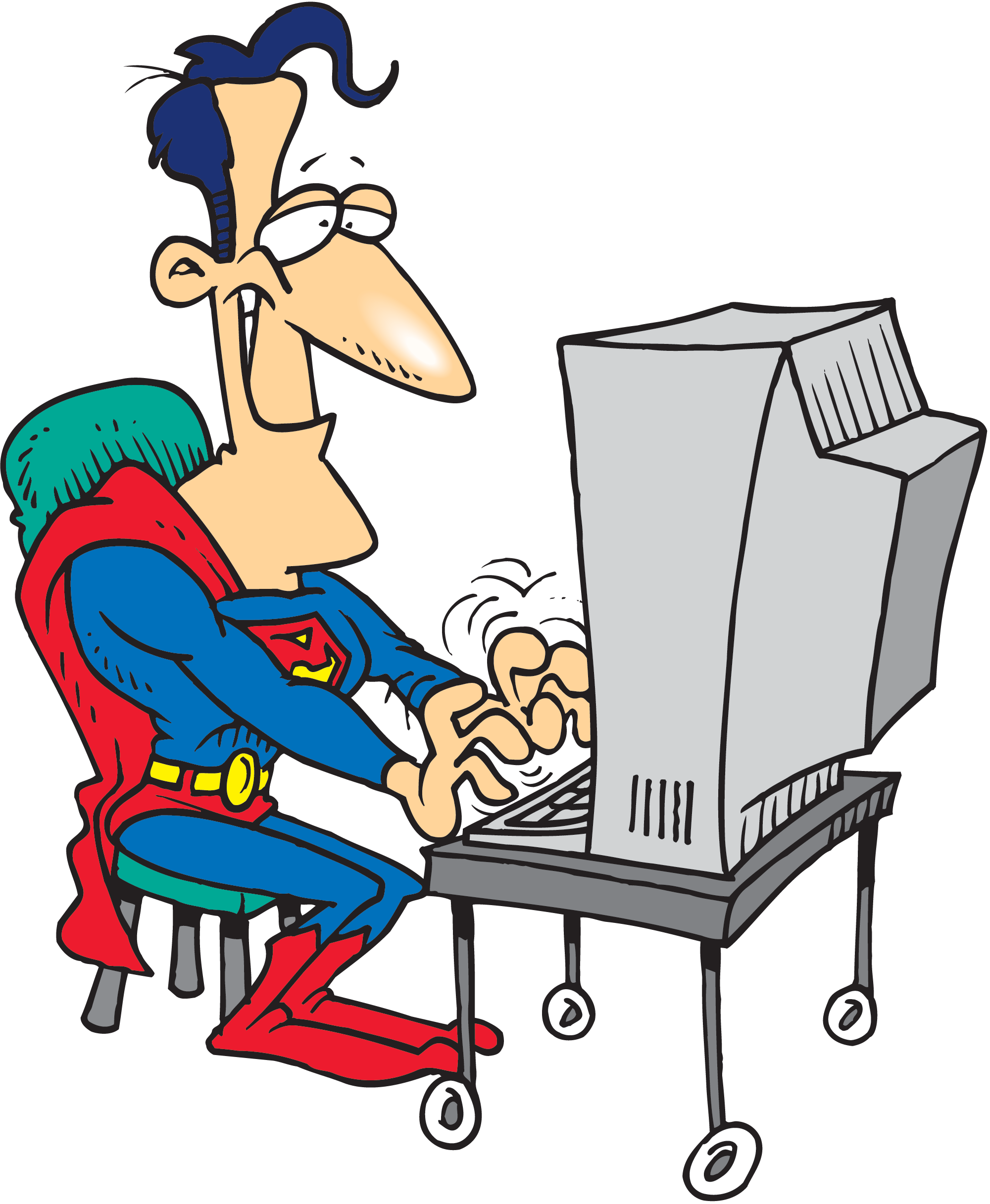 Schedule clipart hectic. Superman did take his