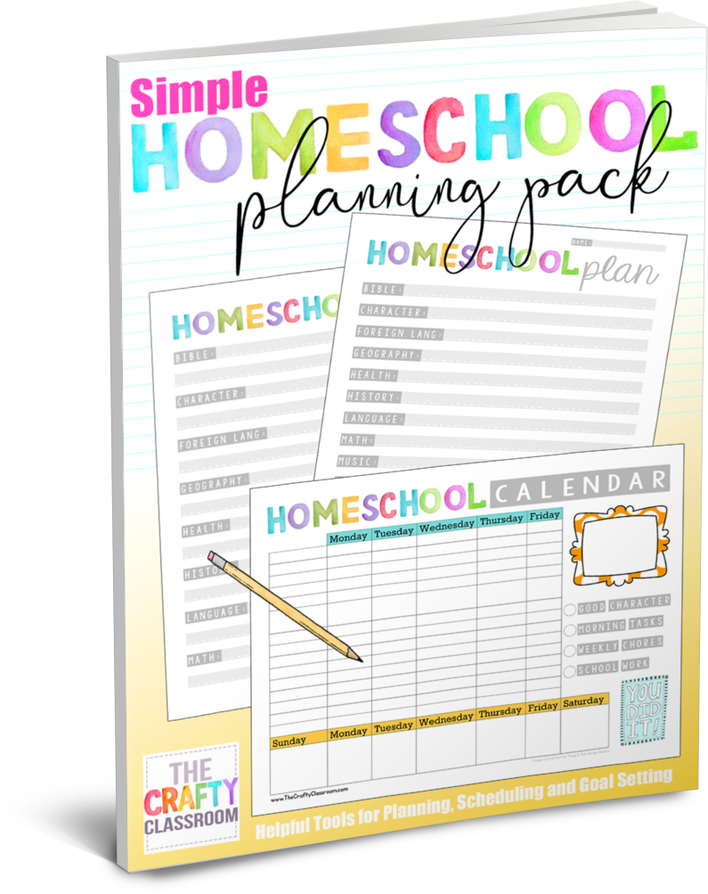 Homeschool archives the crafty. Schedule clipart homeschooling