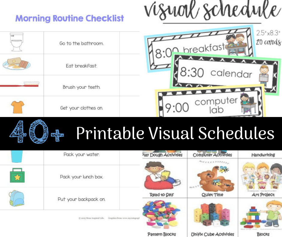 Schedule clipart life. Ultimate list of printable
