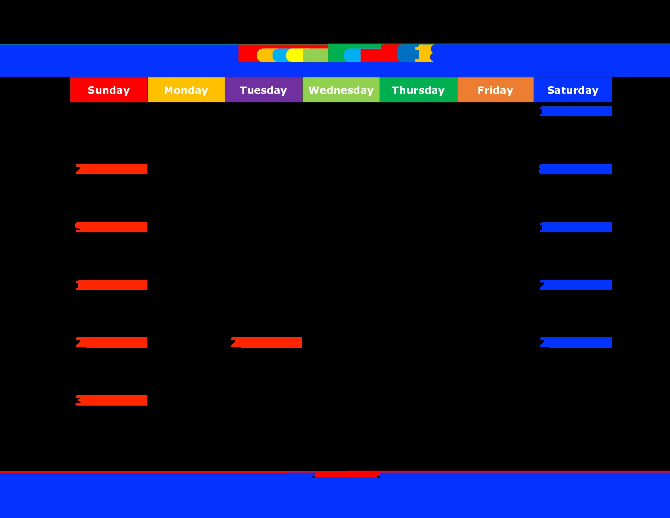 December calendar romeo landinez. Schedule clipart public holiday