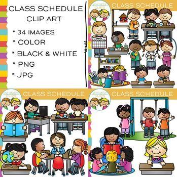 Schedule clipart school schedule. Class clip art stuff