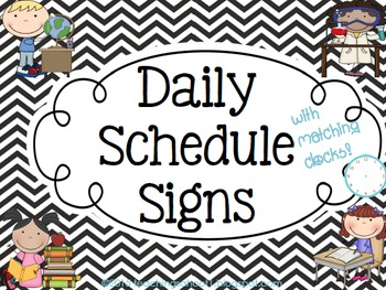 Daily signs black white. Schedule clipart sign