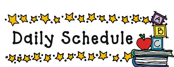 Hellen grahmann your child. Schedule clipart sign