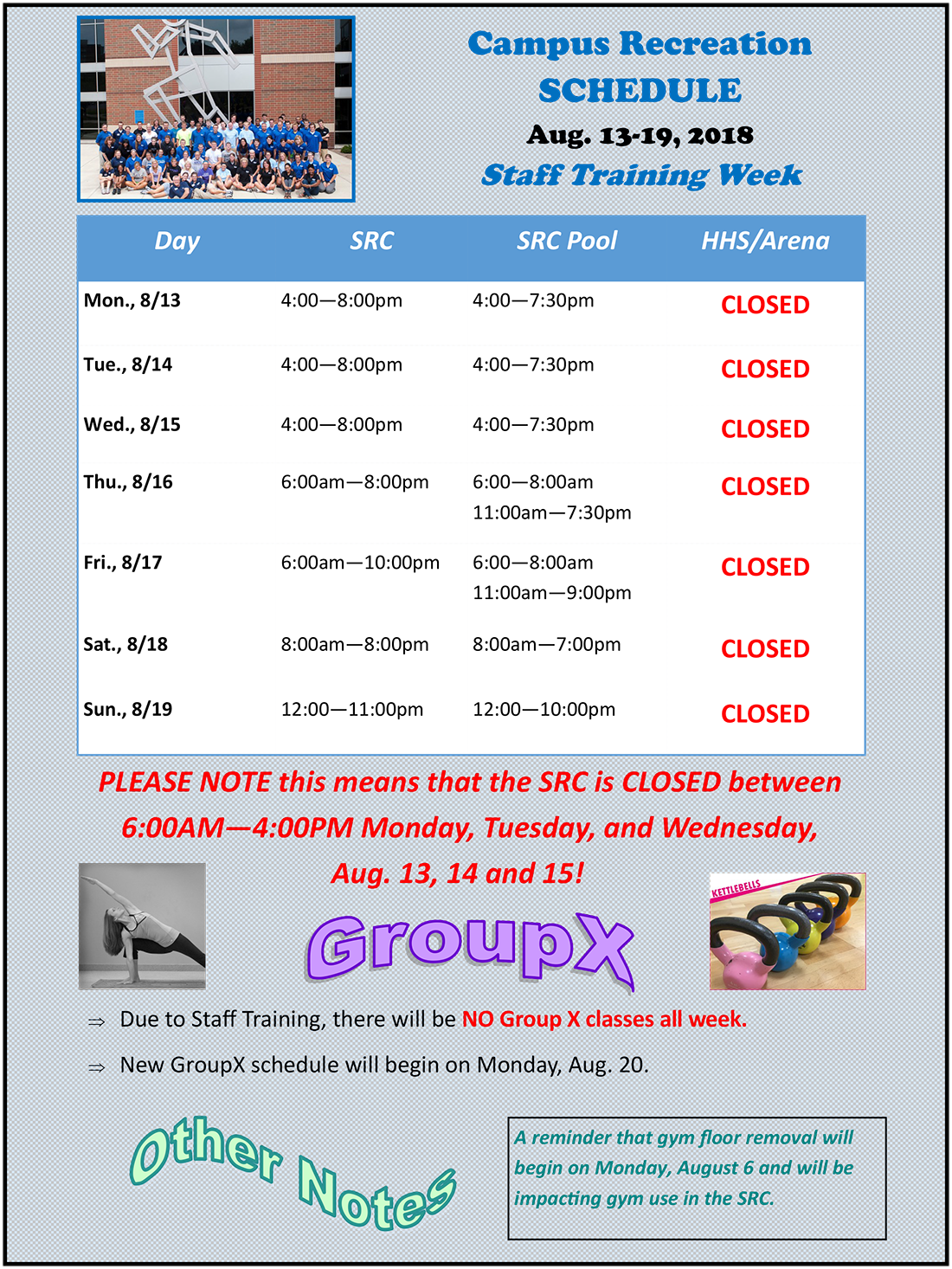 Campus recreation indiana state. Schedule clipart study plan