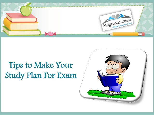 Tips to make for. Schedule clipart study plan