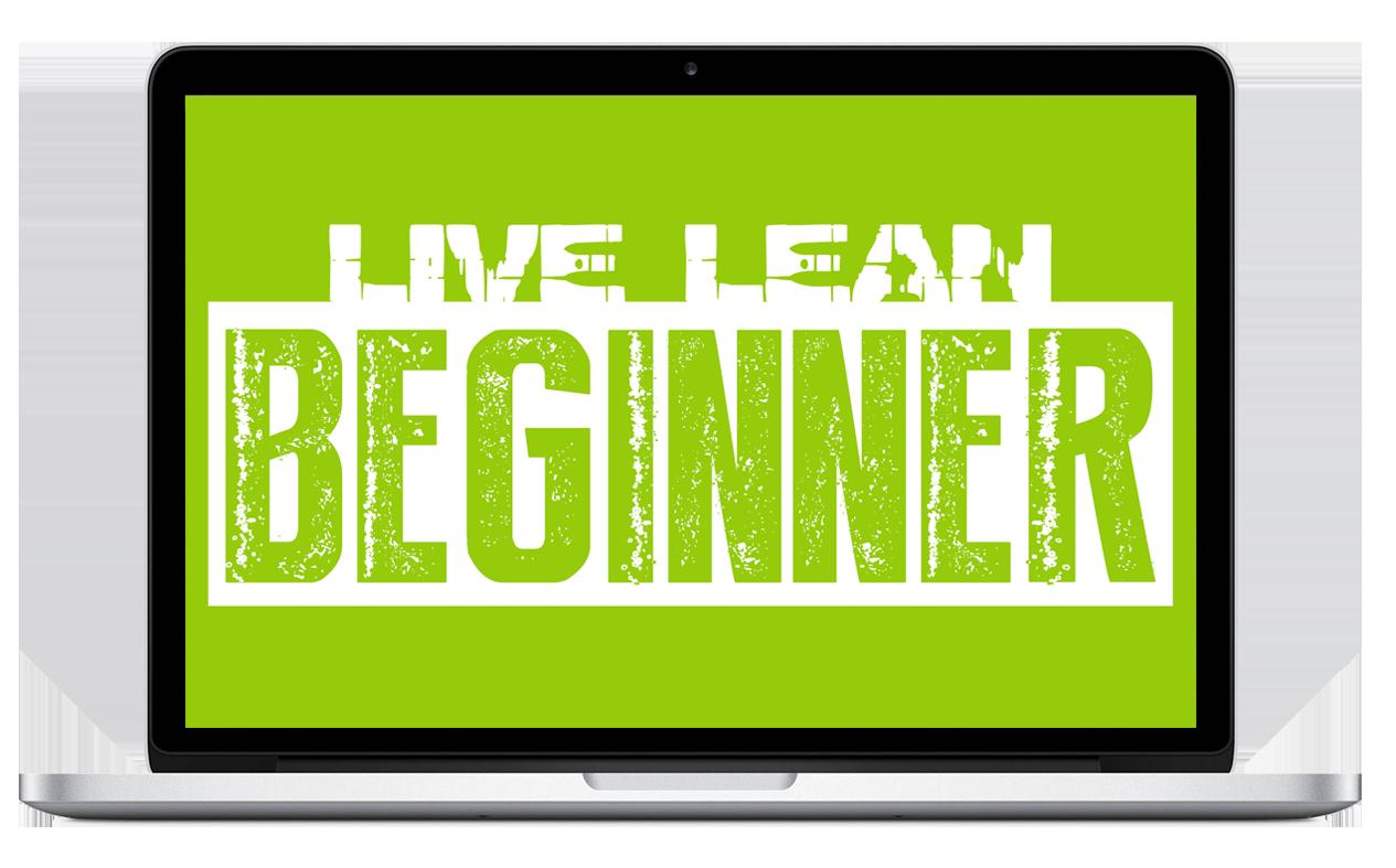 Live lean beginner tv. Schedule clipart workout plan