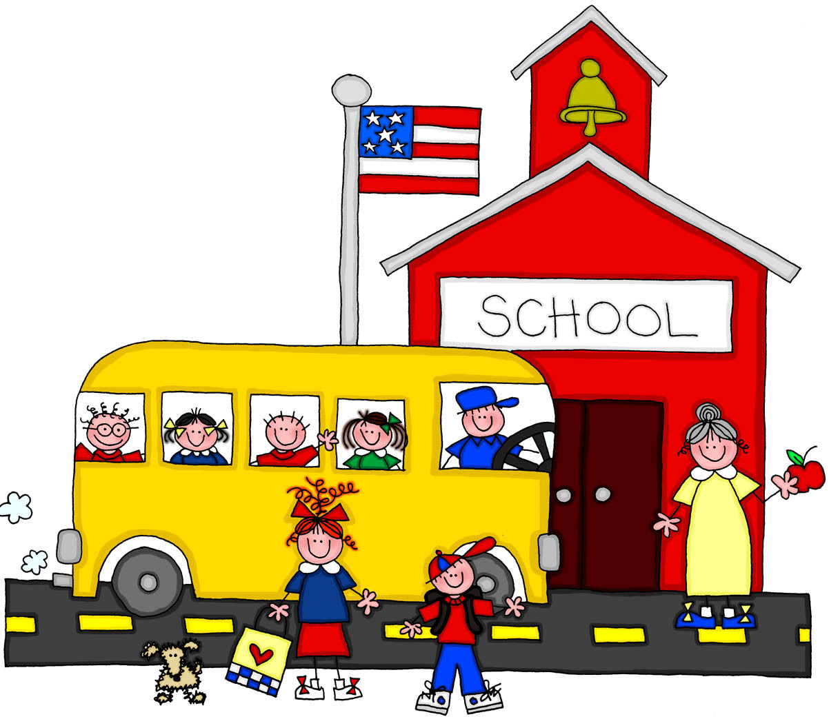 Schoolhouse clipart. Of school house transitionsfv