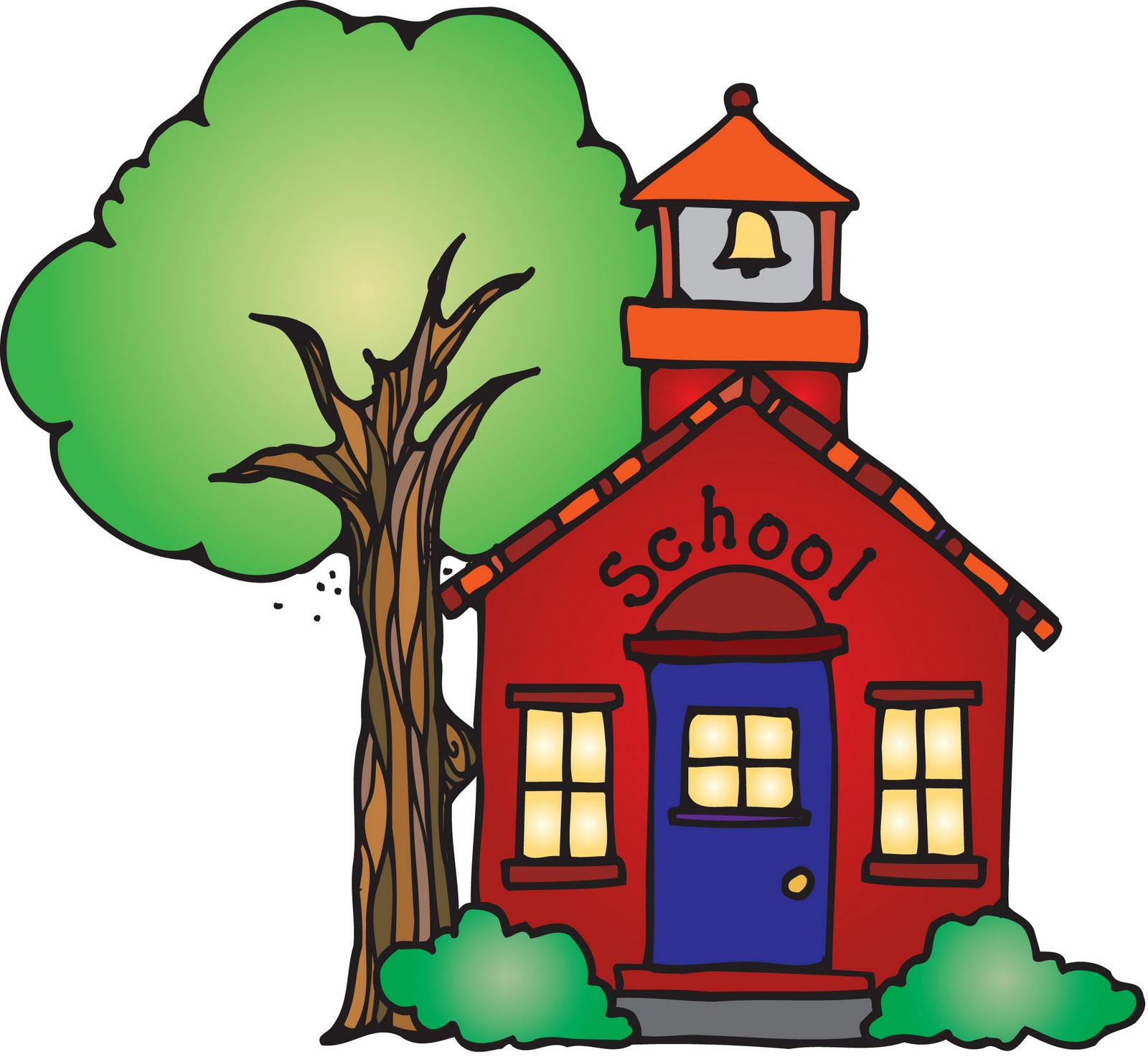 Schoolhouse clipart. School house images panda