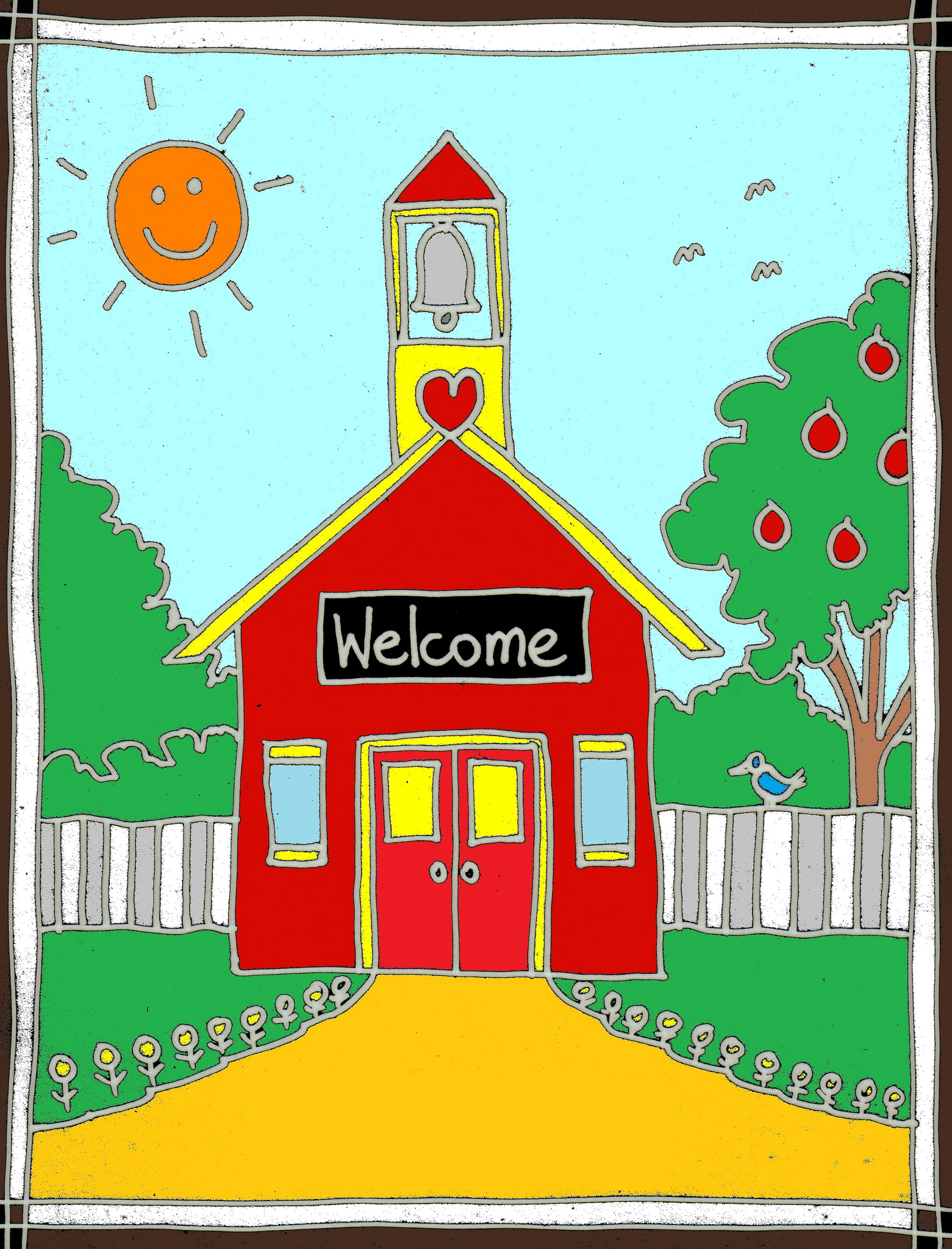 Welcome clipartfest . Schoolhouse clipart back to school