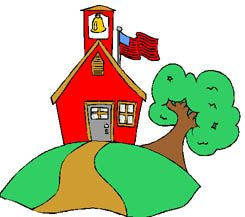 schoolhouse clipart back to school