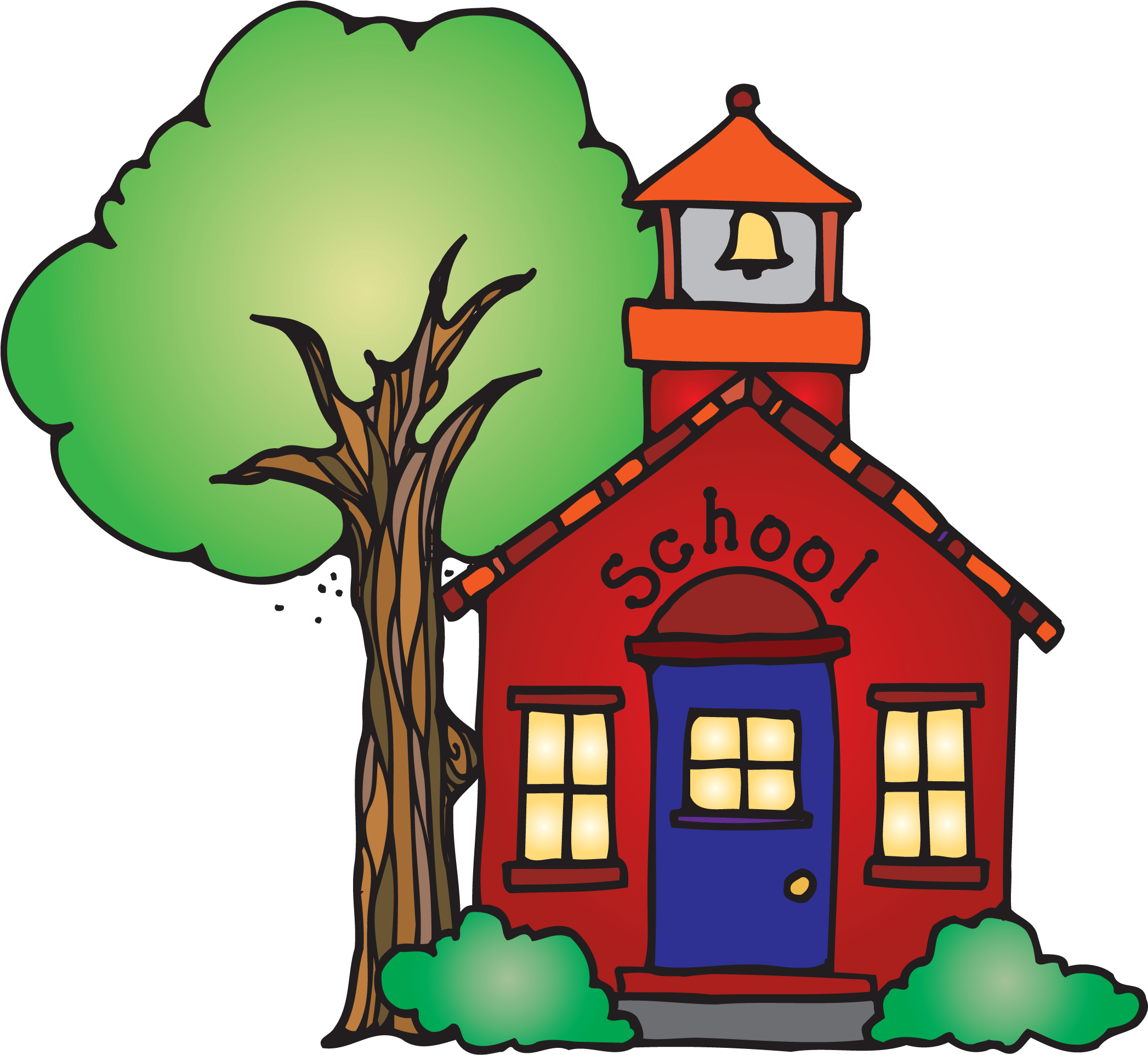 Schoolhouse clipart clear background. Hd png royalty free