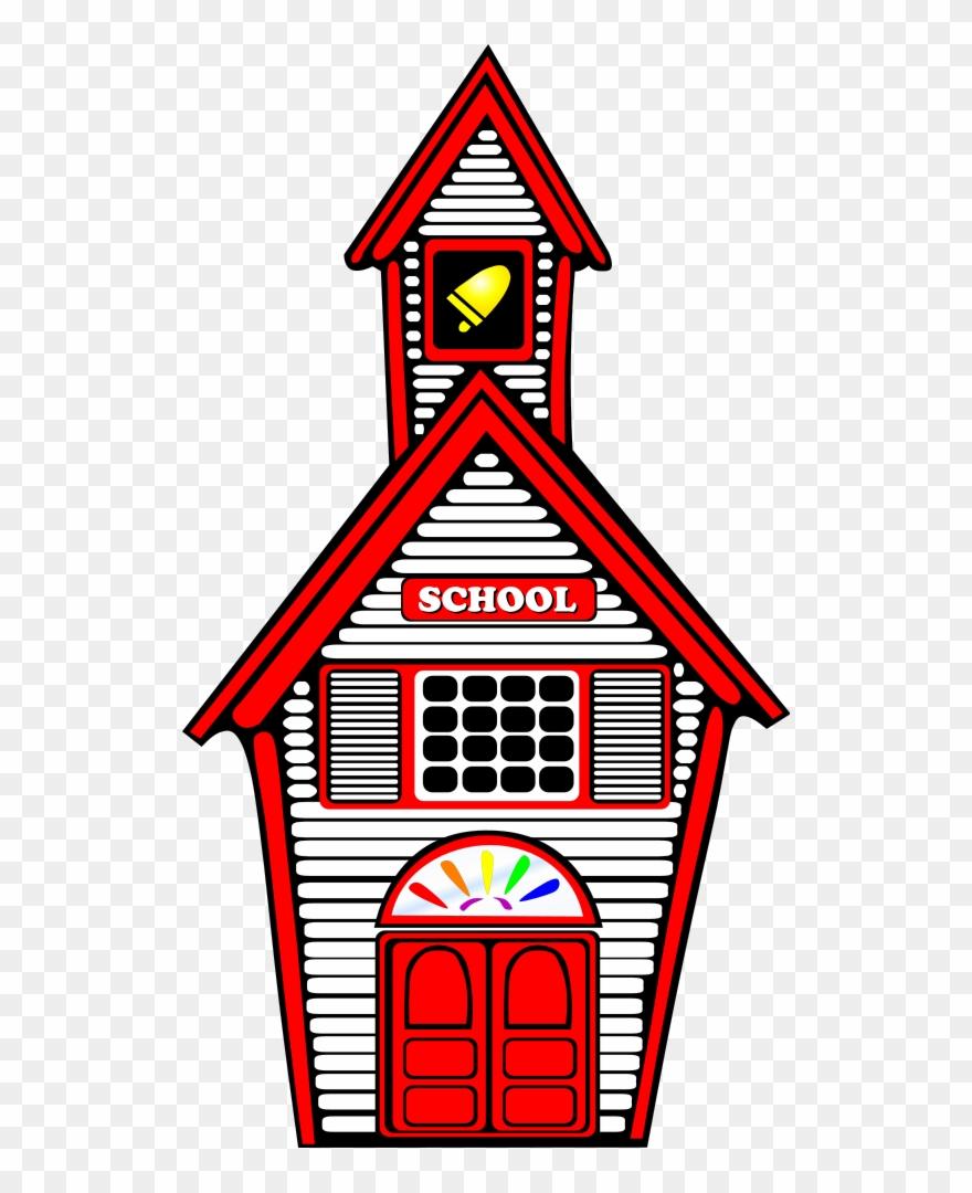 White png school house. Schoolhouse clipart clip art