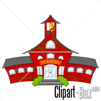 Schoolhouse clipart department education. School building cartoon style