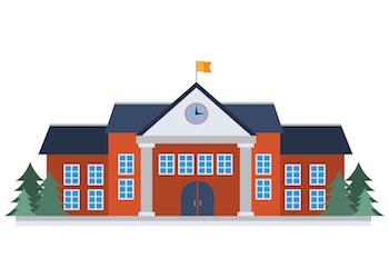 schoolhouse clipart department education
