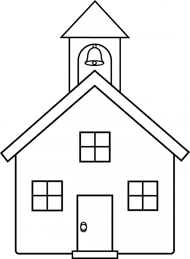 Pictures of house image. Schoolhouse clipart end school day