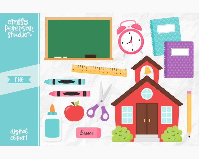 Back to clip art. Schoolhouse clipart end school day