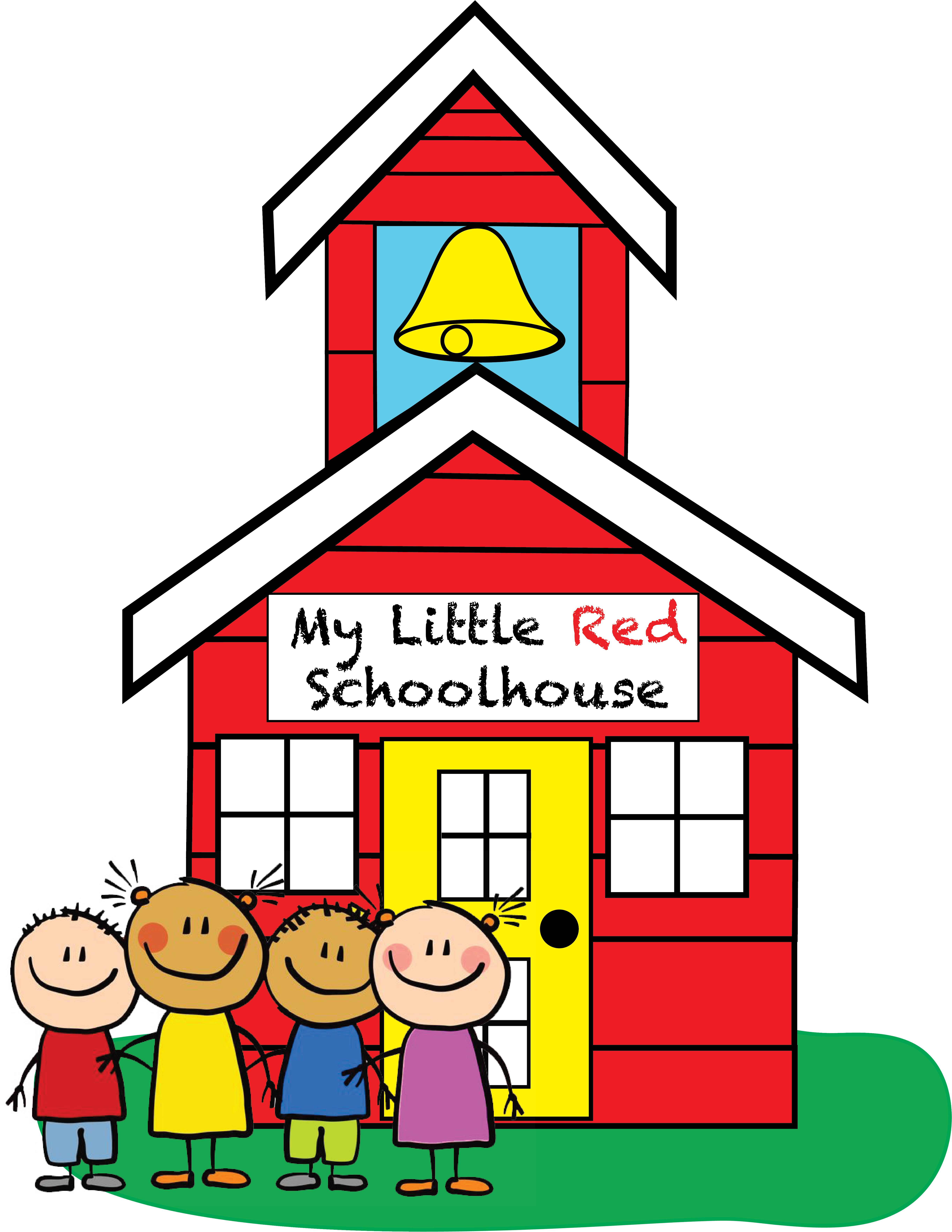 My home . Schoolhouse clipart little red schoolhouse