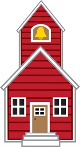 Schoolhouse clipart little red schoolhouse. Clip art library
