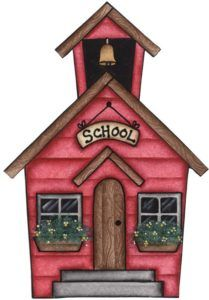 Schoolhouse clipart school begins. Is about to begin