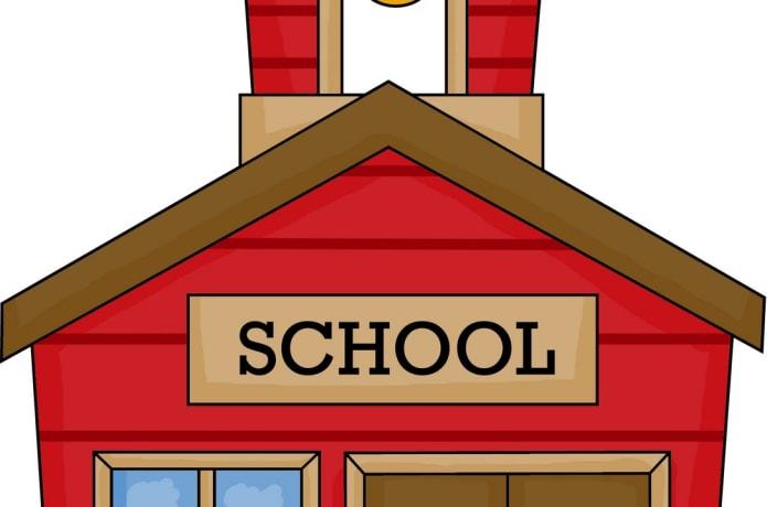 Help build the little. Schoolhouse clipart school begins