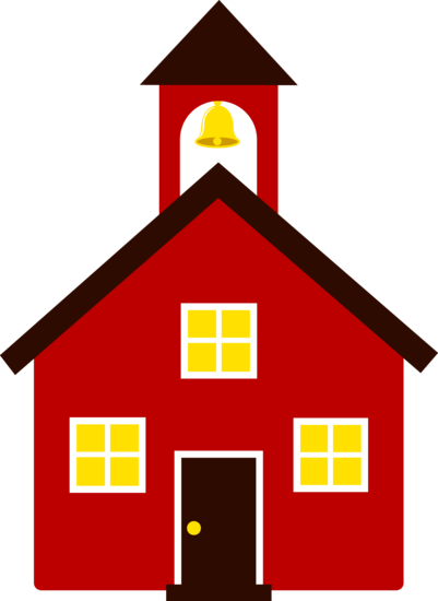 Free clip art of. Schoolhouse clipart