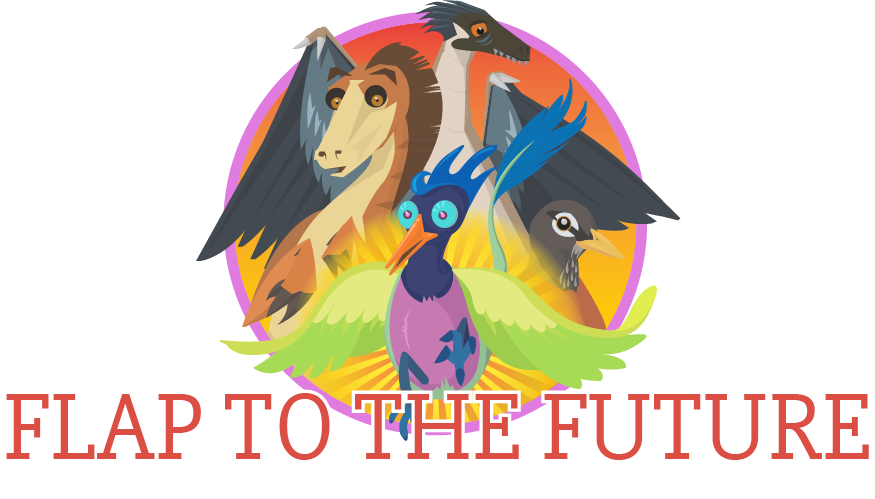 Flap to the future. Scientist clipart elementary science