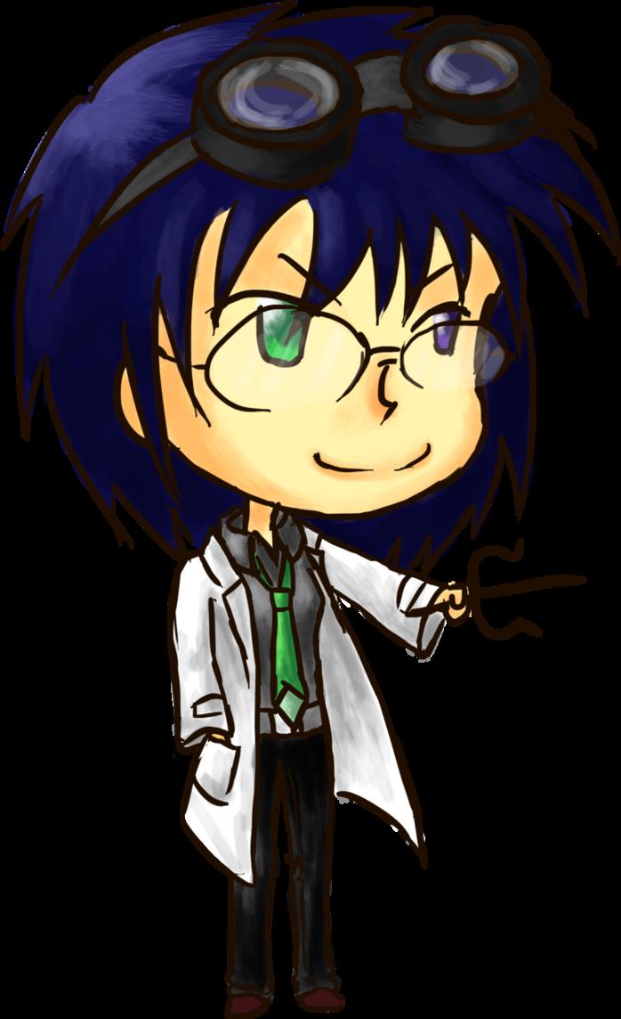 scientist clipart evil