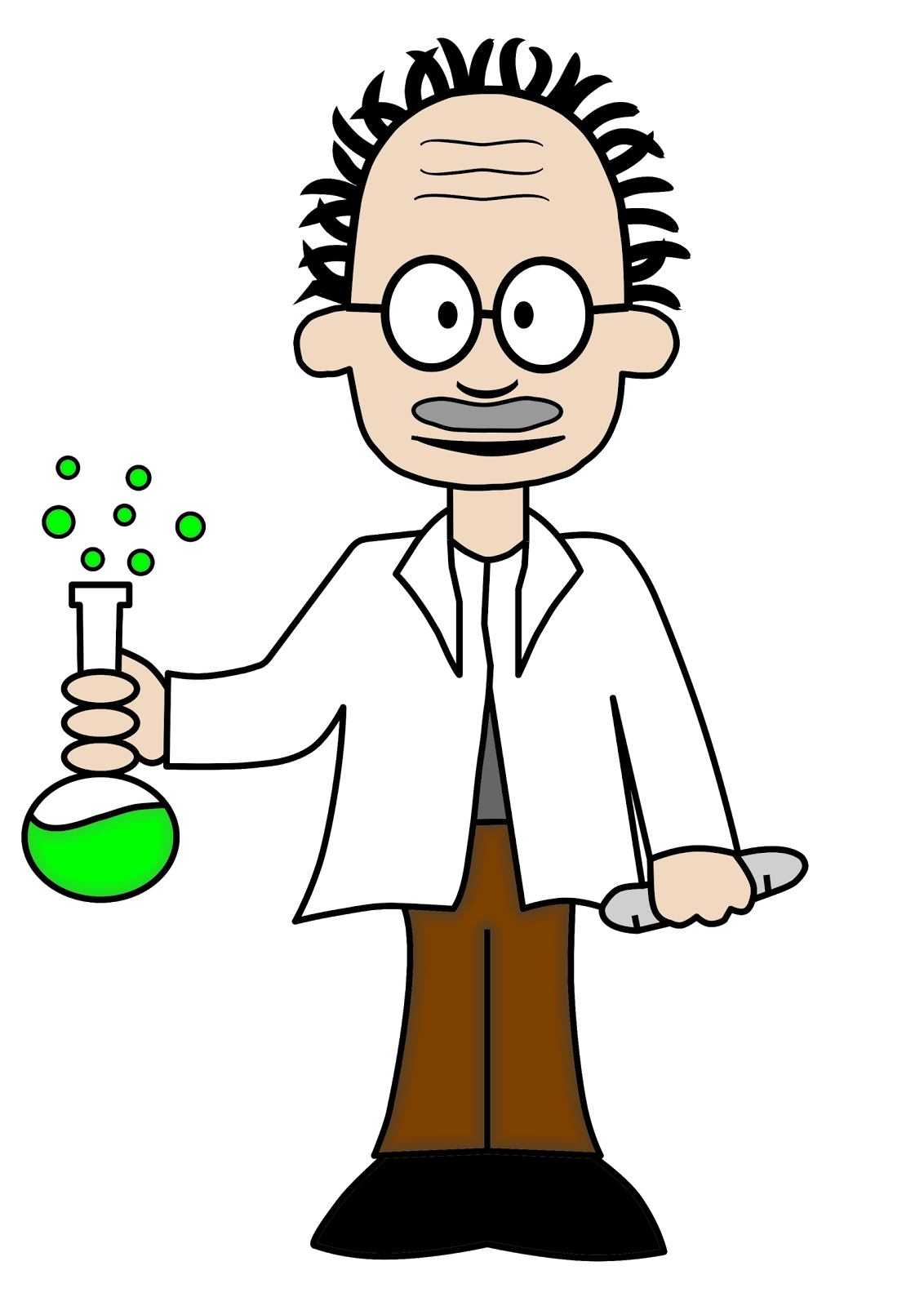 Scientist clipart science area. Cartoon drawing clip art