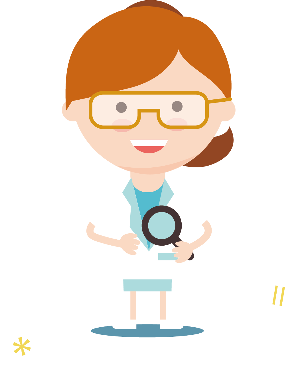 The cartoon guide to. Scientist clipart science area