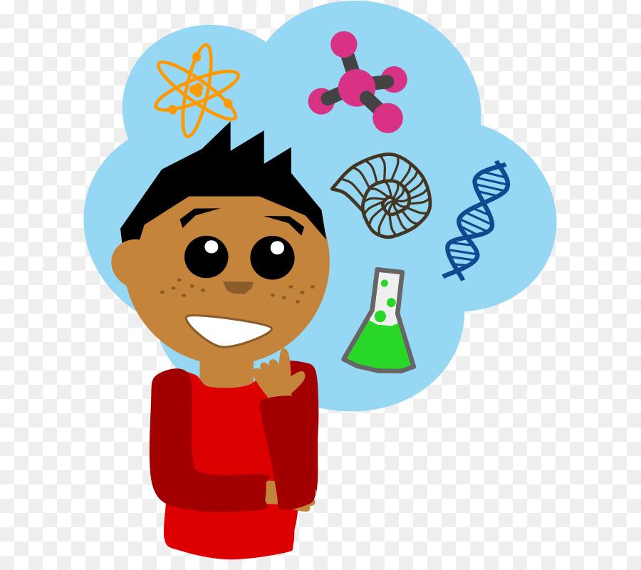 Cartoon nose . Scientist clipart science area