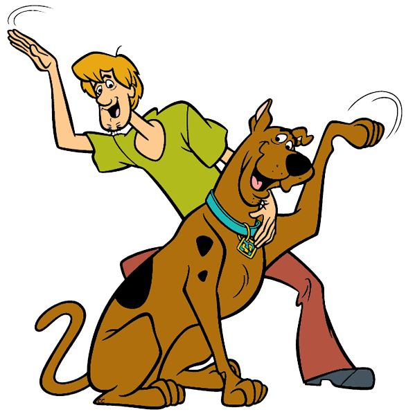 collection of birthday. Scooby doo clipart cartoon