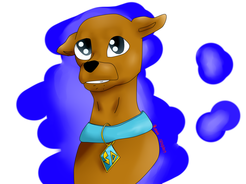 Scooby doo clipart collar. By derpymuffinartist on deviantart
