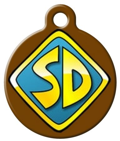 scooby doo clipart dog tag