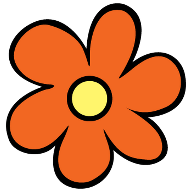 Mystery sticker decal scoobydoo. Scooby doo clipart flower