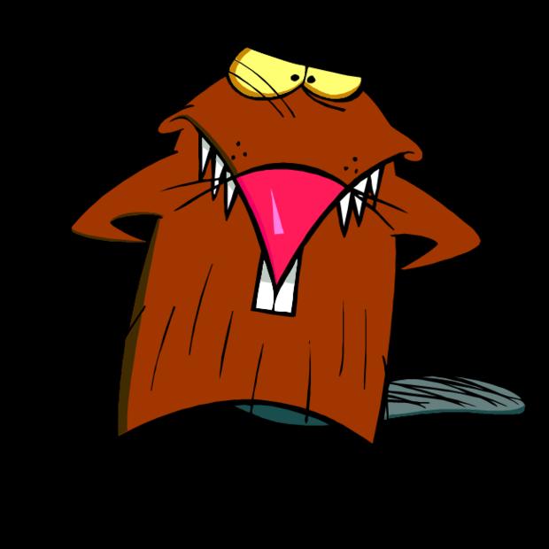 Daggett beaver pinterest is. Scooby doo clipart frightened