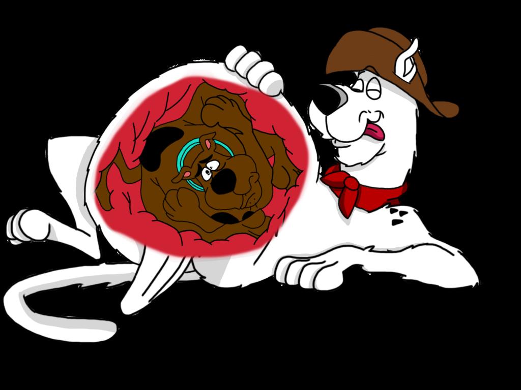 Yabba eats seen by. Scooby doo clipart head