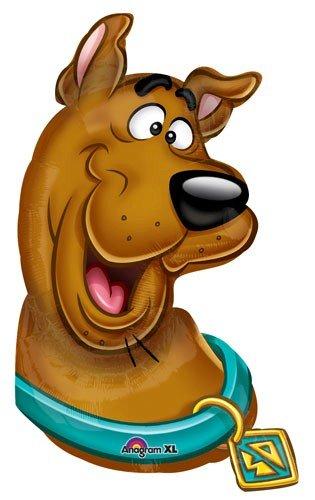Scooby doo clipart head.  balloon shape