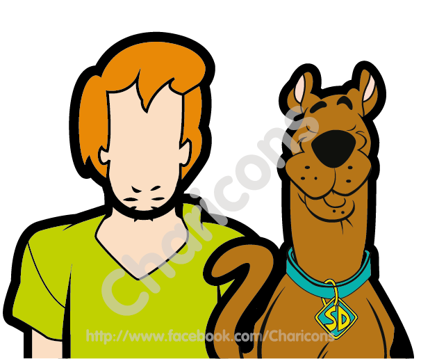 Scooby doo clipart head. Charicon cartoon and animation