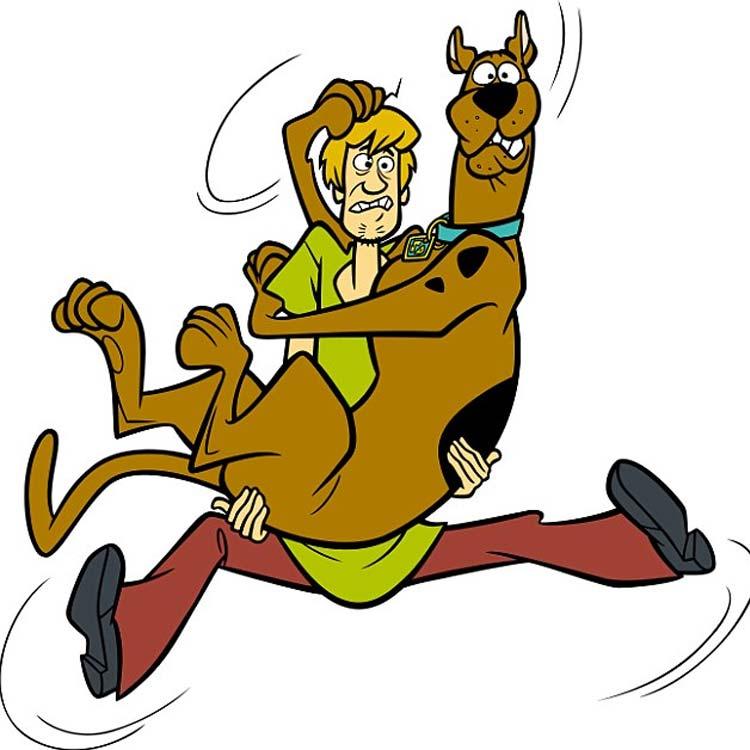 Presley el gran dan. Scooby doo clipart miedo