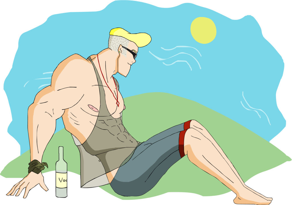 Fred first of may. Scooby doo clipart muscular