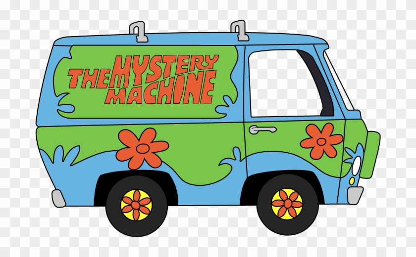 Scooby doo clipart mystery machine.