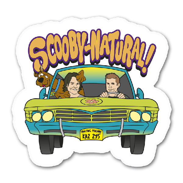 Supernatural imaginative ink the. Scooby doo clipart mystery machine