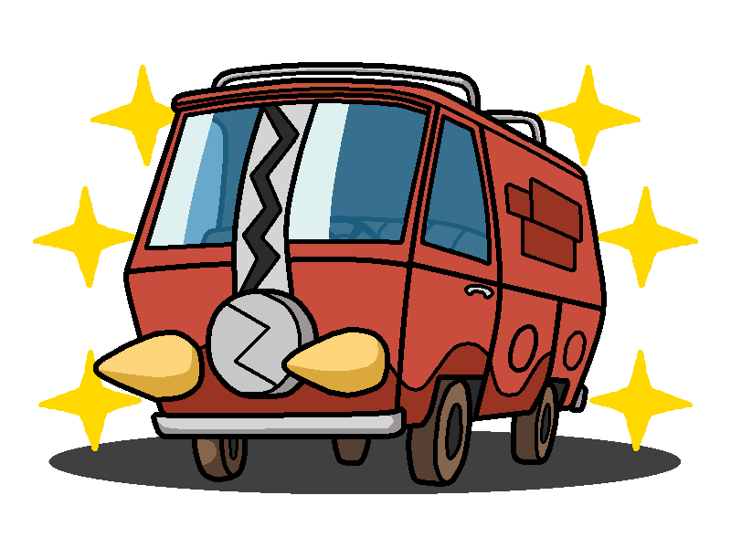Scooby doo clipart mystery machine. Shiny charjabug by shawarmachine