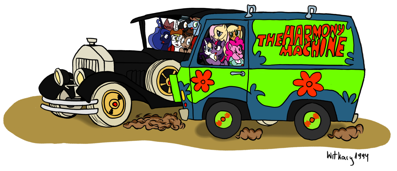 alicorn applejack artist. Scooby doo clipart mystery machine
