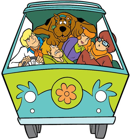 Free cliparts . Scooby doo clipart mystery machine