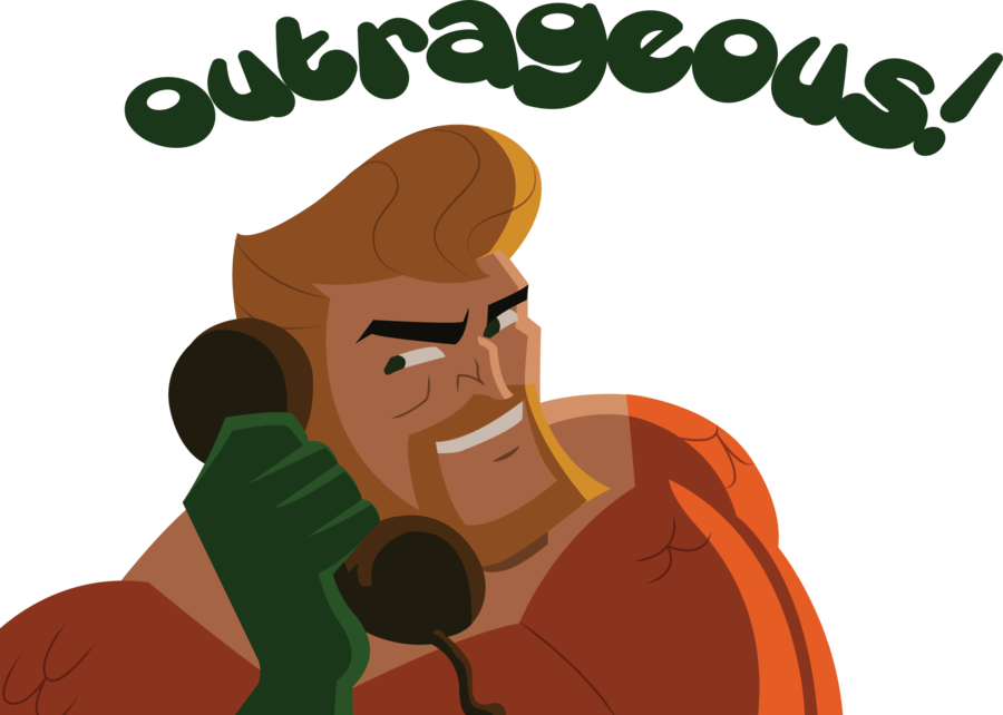 Scooby doo clipart overjoyed. Chris punch added by